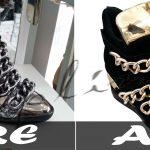Dequpline.com Ayakkabı kategorisine ait arka plan çalışması